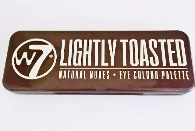 W7: Lightly Toasted Eyeshadow Palette