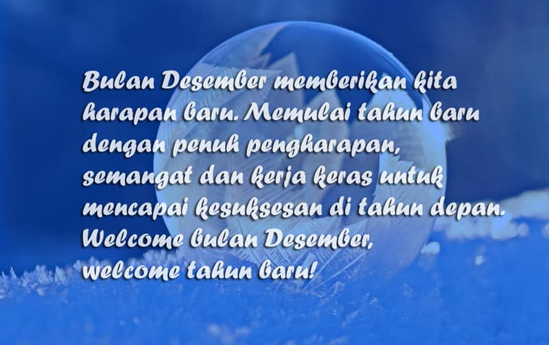 Gambar Welcome Desember 20
