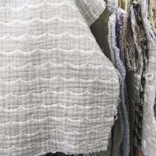 Nani Iro Textiles 2018 double gauze fabric scallops