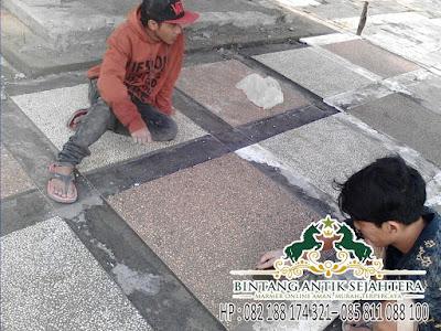 Pasang Lantai Marble | Upah Pasang Marmer