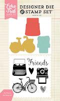 Set My Friends de troqueles y sellos de la marca Echo Park