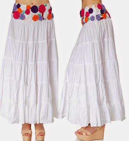 Falda larga Niza