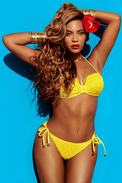 Yellow Bikini, Beyonce for H&M Summer Collection