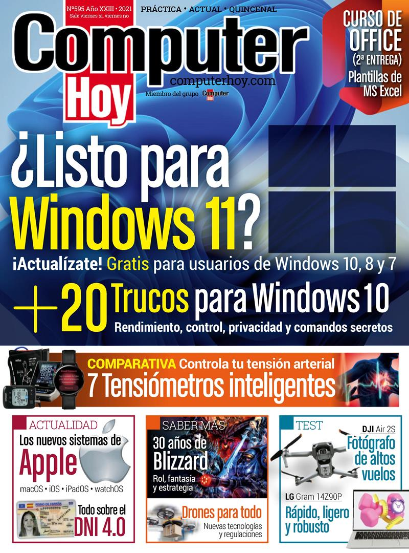 Computer Hoy Nro. 595: Listo para Windows 11 – 2021