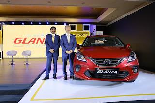 Toyota Kirloskar Motor forays into premium hatchback segment with launch of Toyota Glanza
