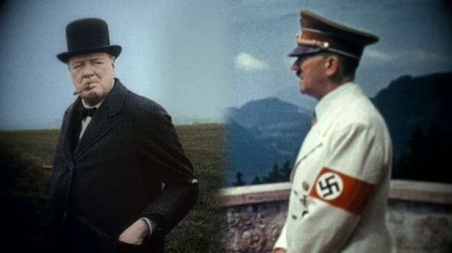 churchill dan hitler