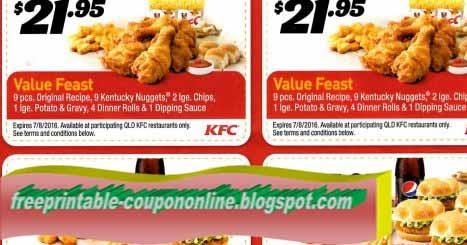 Kfc coupons 2018 printable april