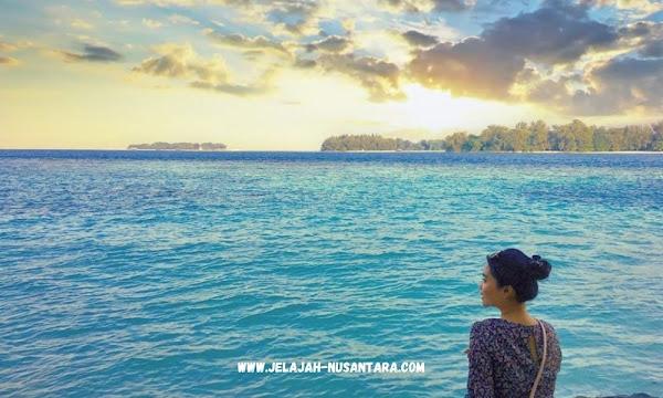 paket wisata private trip pulau tidung
