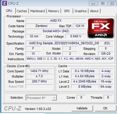 AMD FX-4320, FX-6300 to FX-8350 specifications leaked - GURU Of High