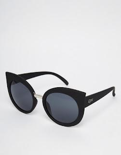 lunettes soleil yeux de chat