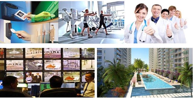 Tiện ích công cộng được của căn hộ CHUNG CƯ FLC GARDEN CITY