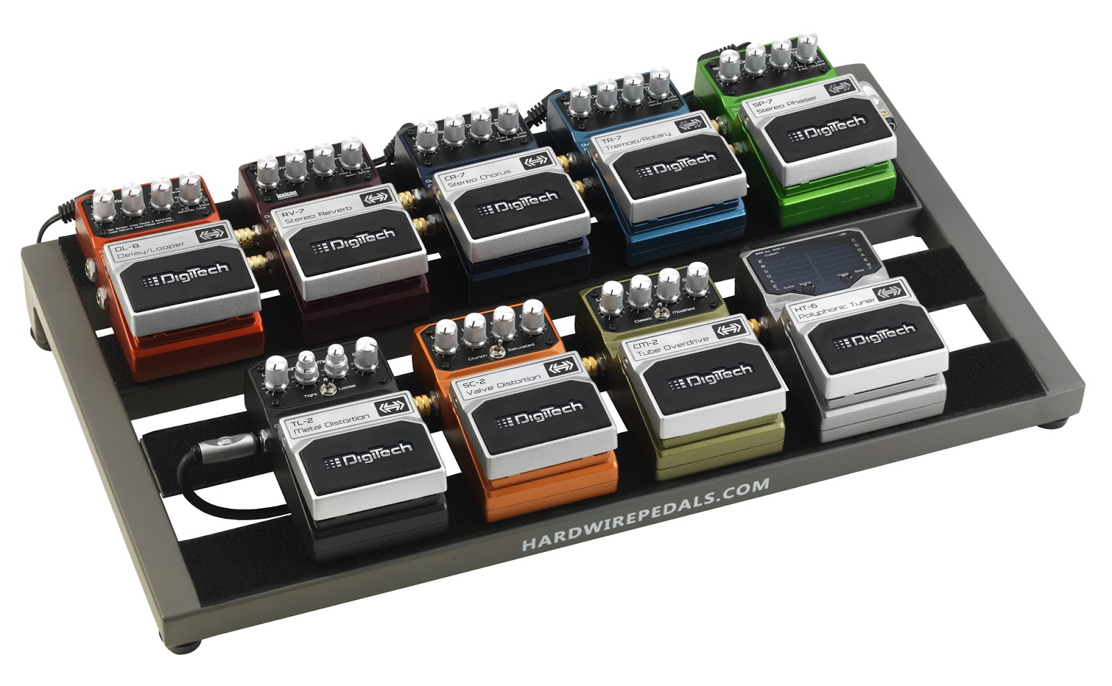 digitech hardwire pedalboard the gear page. Black Bedroom Furniture Sets. Home Design Ideas
