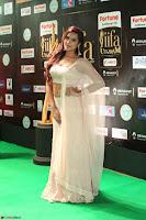 Prajna Actress in backless Cream Choli and transparent saree at IIFA Utsavam Awards 2017 0125.JPG