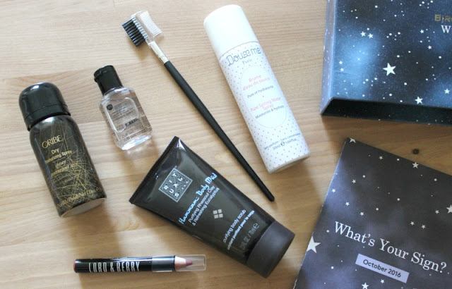 October Birchbox UK Review