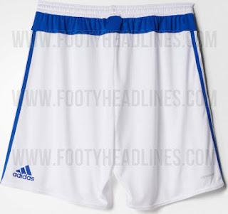Gambar bagian belakang celana bola Chelsea away musim depan 2015/2016