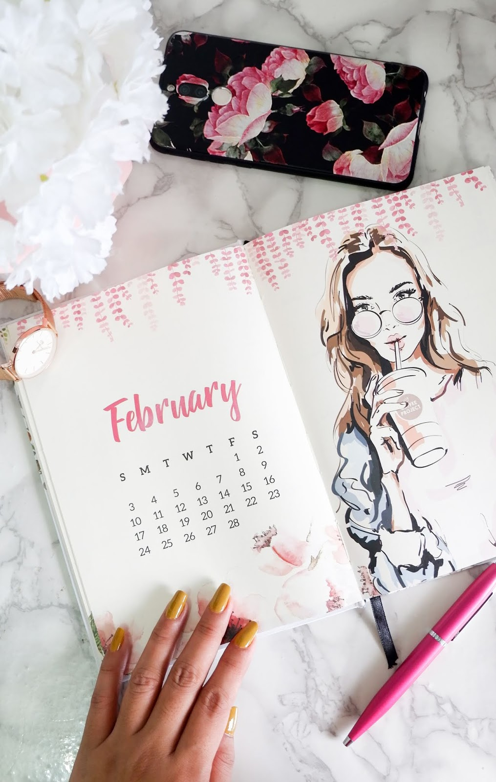 FEBRUARY GOALS - SELF CARE