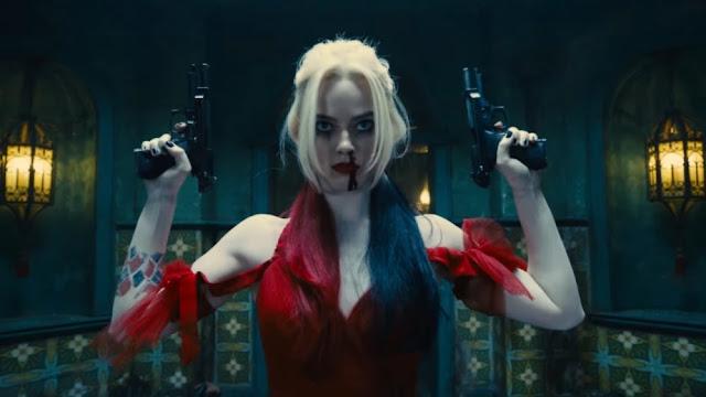 Margot Robbie como Harley Quinn.