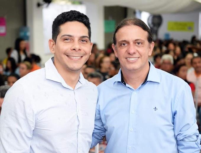 DECIDIDO - Paulo Marinho Junior reafirma sua parceria com Fábio Gentil para 2020 em suas redes sociais