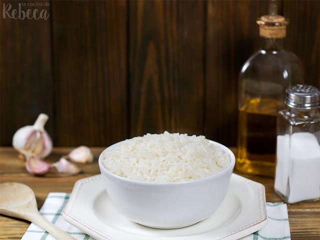 Cómo cocer un arroz blanco perfecto