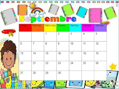 Organización del trabajo escolar día a día.