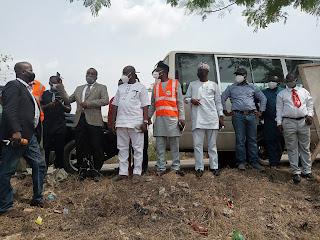 FG, Ogun Govt. Begins Construction Of 500 Housing Units For Ogun Flood Victims