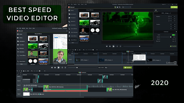 best fast video editor for 2020 for windows (recording desktop and edit video)