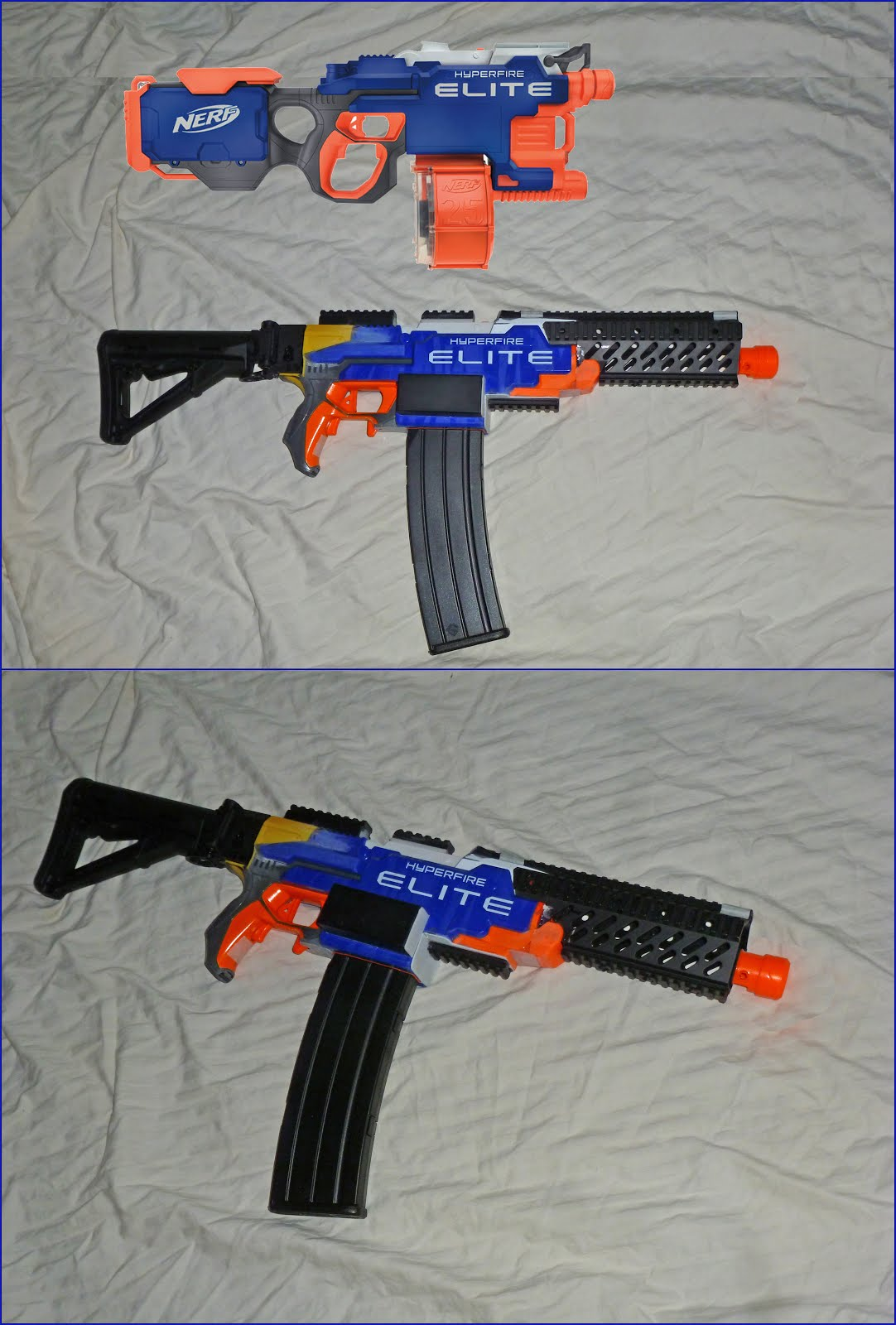 APEX TACTICAL SOLUTIONS: NERF Mod - Hyperfire Mod ...  APEX TACTICAL S...