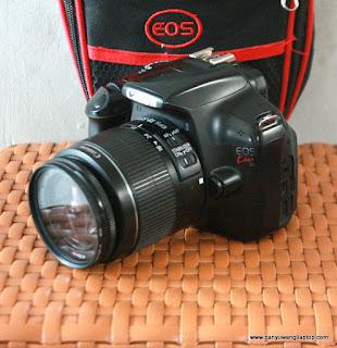 Jual Kamera  Canon Eos Kiss X50/ canon 1100d Bekas  di Banyuwangi