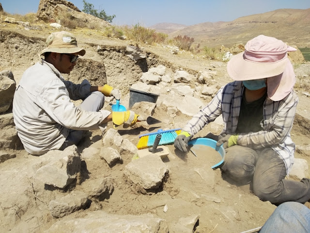 Archaeological team excavates at one of the major fortress-settlements in the Armenian Highlands