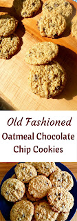 Old Fashioned Oatmeal Chocolate Chip Cookies - just like mom used to make! Slice of Southern