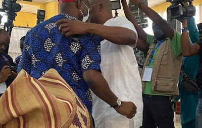 You are my leader, Fayose tells Makinde at PDP South-West zonal congress, begs for forgiveness makinde