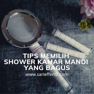 tips memilih shower kamar mandi