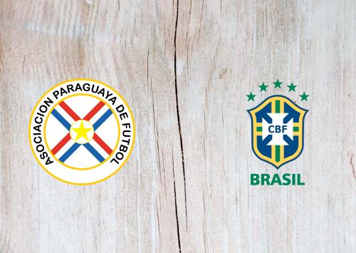Paraguay vs Brazil -Highlights 09 June 2021