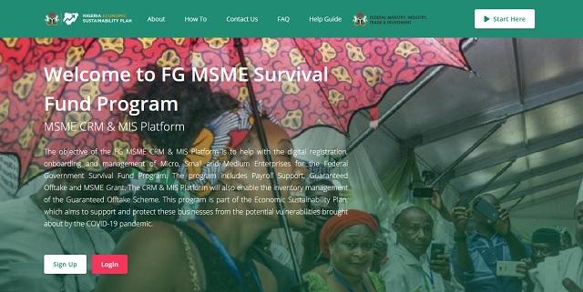 FG=MSME-Survival-Fund-Program