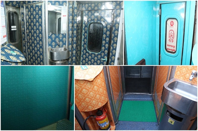 Hygiene & Cleanliness in Rajdhani Express