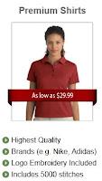 corporate logo shirts