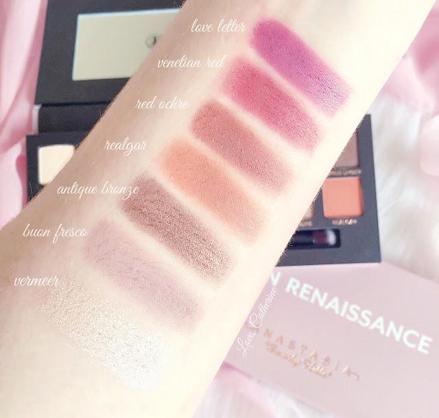 Anastasia Beverly Hills | Modern Renaissance Eyeshadow Palette Swatches