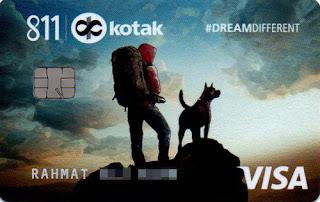 Kotak mahindra credit Card