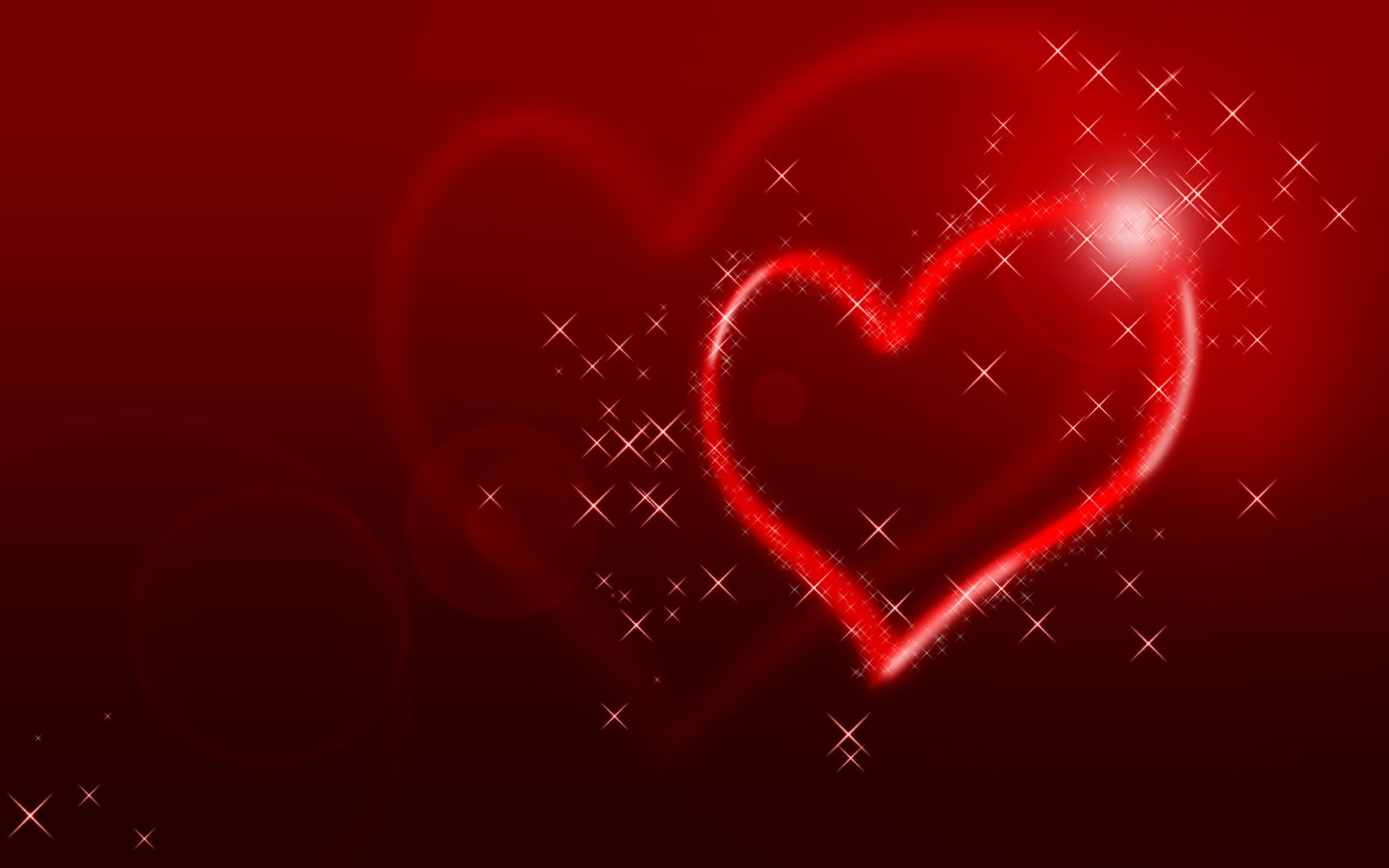Love Heart Valentine Card 2018 Valentine Card Free