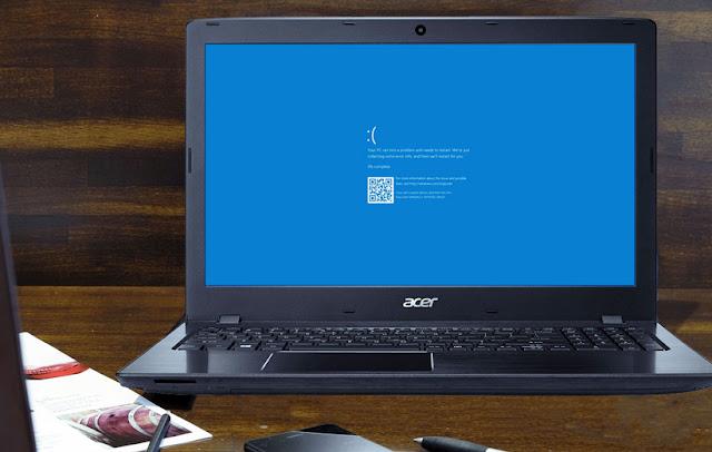 10 حلول لـ اصلاح مشكلة الشاشة الزرقاء للويندوز Windows 1