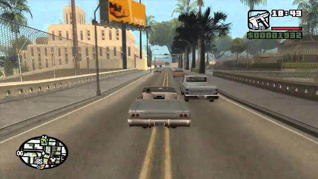 Grand Theft Auto San Andreas Full Version PC games