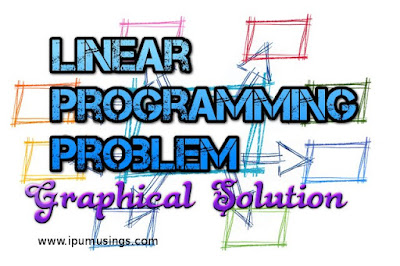 Operations Research - Geometrical Solution Of Linear Programming Problem