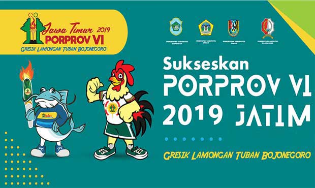 Venue Porprov 2019 Kontingen Kota Batu Memusat di Lamongan dan Tuban