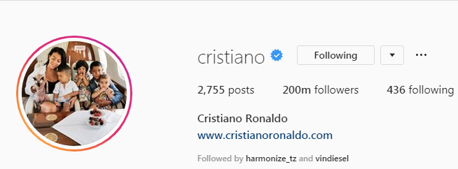 Official CR7 Instagram Account
