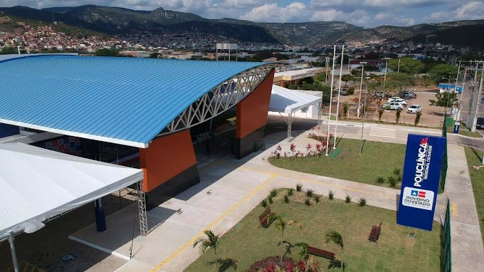 Governador Rui Costa inaugura Policlínica Regional de Saúde em Jacobina