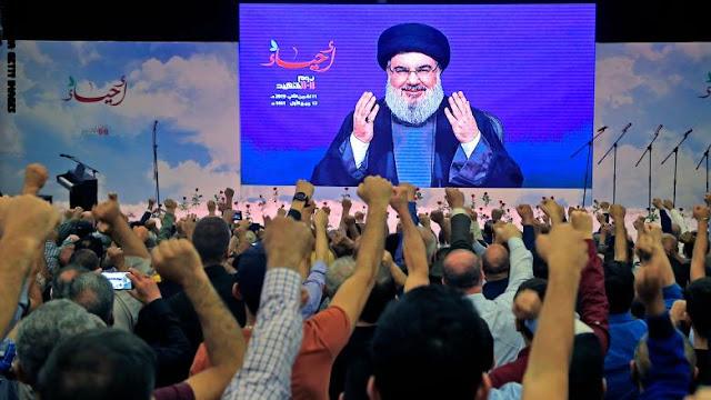 حزب الله اللبناني يدين الغارات الجوية الأمريكية على الحشد الشعبي في العراق