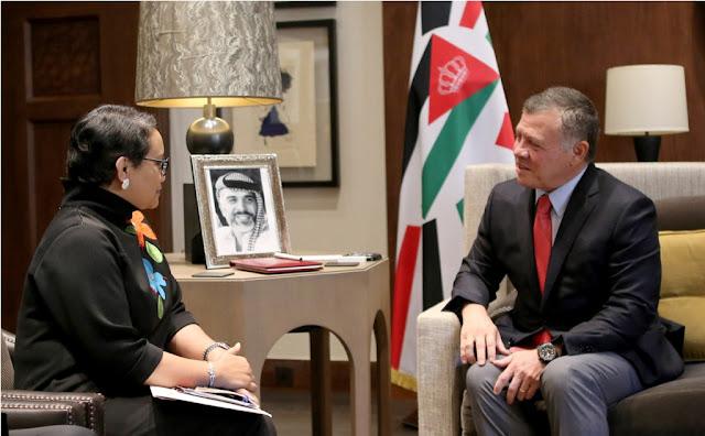 Alhamdulillah, Indonesia-Yordania Siapkan Langkah untuk Kemerdekaan Palestina