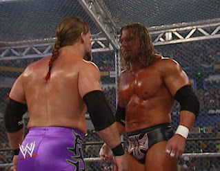 WWE Judgement Day 2002 - Triple H vs. Chris Jericho - Hell in a Cell