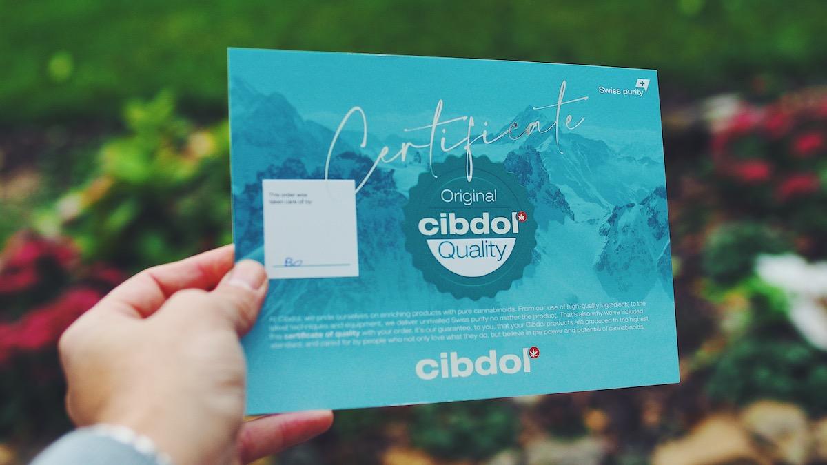 Cibdol steht für ein gute und sichere CBD Produkte