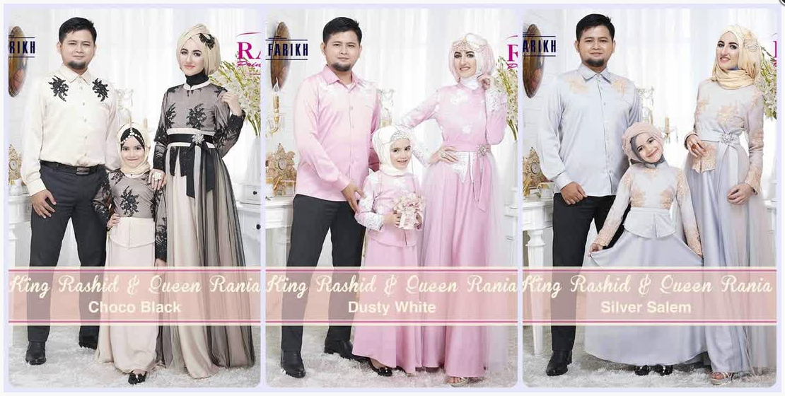 Koleksi Terkini Model Baju Muslim Couple Keluarga 2015